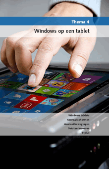 Windows op een tablet